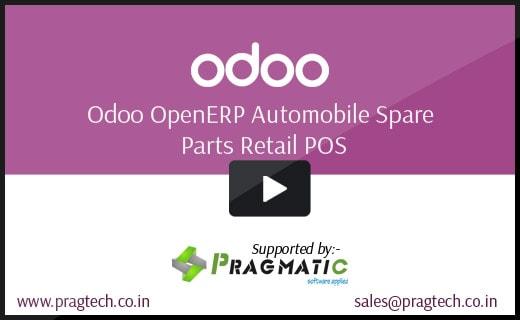 Odoo Automobile spare Parts Retail POS - Pragmatic
