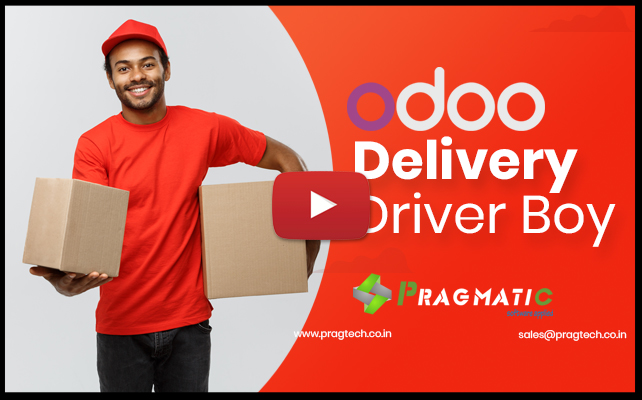 Odoo Delivery Boy
