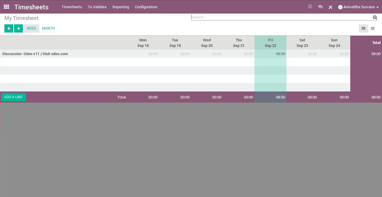 Odoo 11 Features - Pragmatic
