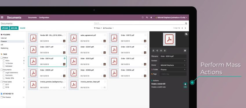 Odoo 12 Features - Pragmatic